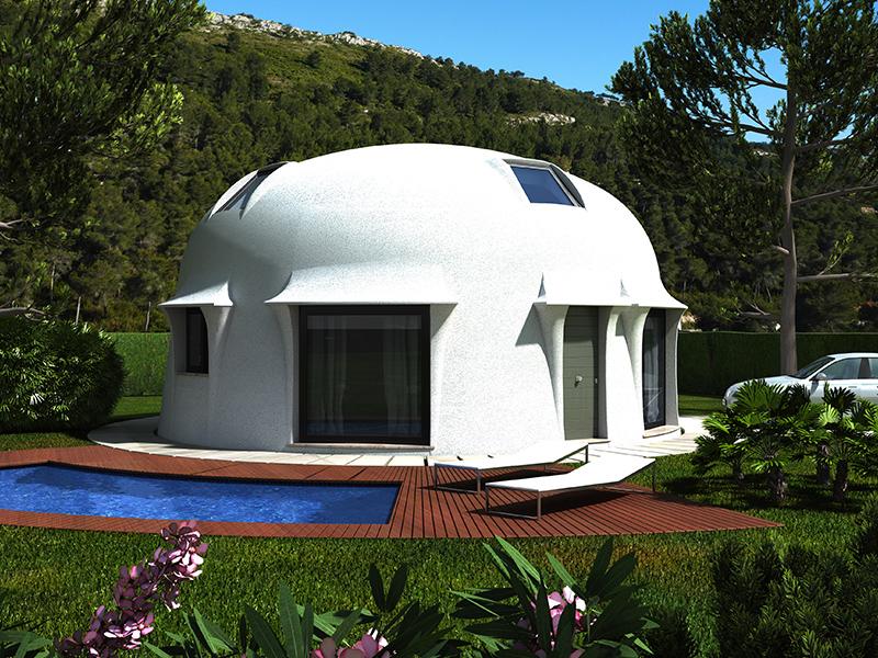 Viviendas bioclim ticas casas prefabricadas casa - Casas sostenibles precios ...